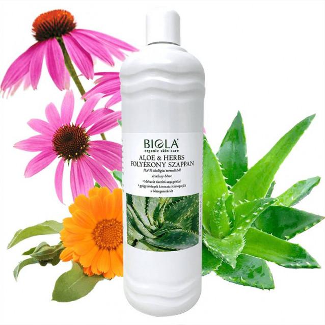 Aloe & Herbs folyékony szappan - 1000 ml