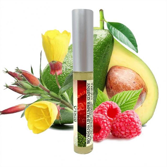 Bio Málna lip plumper szájfény - 7 ml