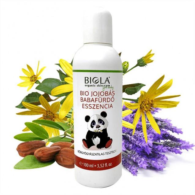 Bio jojobás baba fürdőeszencia Dermatológiailag tesztelt - 100 ml