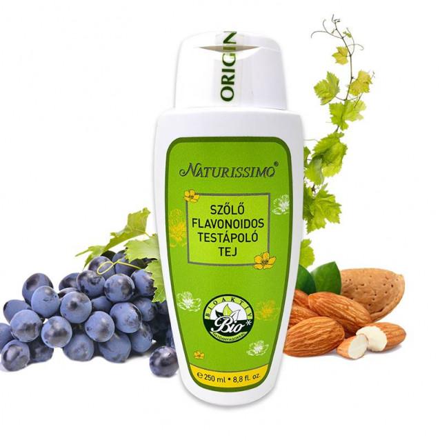 Szőlő flavonoidos testápoló tej - 250 ml