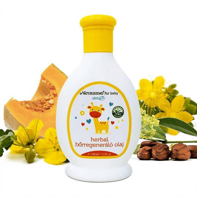 Herbal bőrregeneráló olaj Dermatológiailag tesztelt - 100 ml