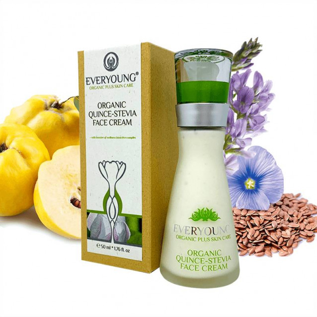 Bio birs-jázminpakócás arckrém - 50 ml