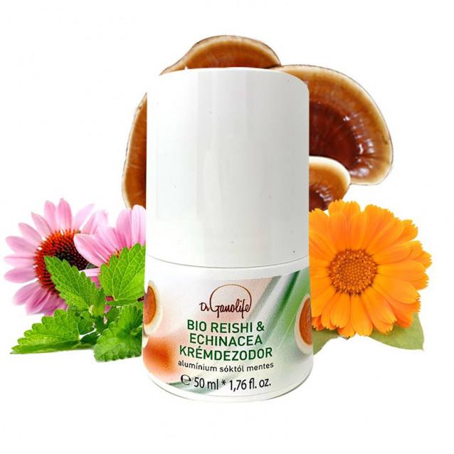 Bio Reishi & Echinacea krémdezodor Dermatológiailag tesztelt  - 50 ml