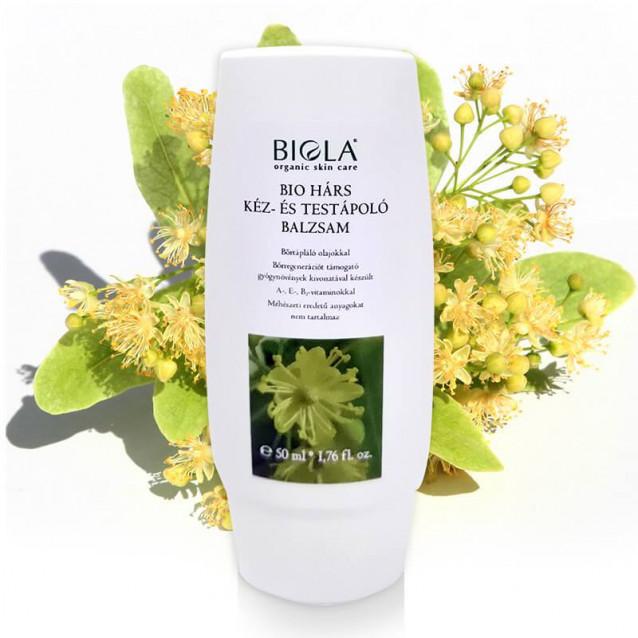 Bio hárs kéz- és testápoló balzsam - 50 ml