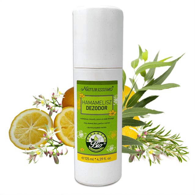 HAMAMELISZ DEZODOR - 125 ml