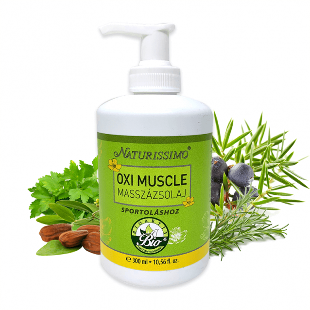 OXI MUSCLE MASSZÁZSOLAJ - 300 ml