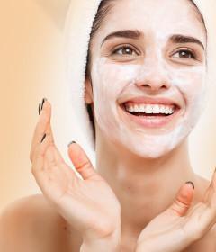 Bőrregeneráló maszk, krémpakolás
